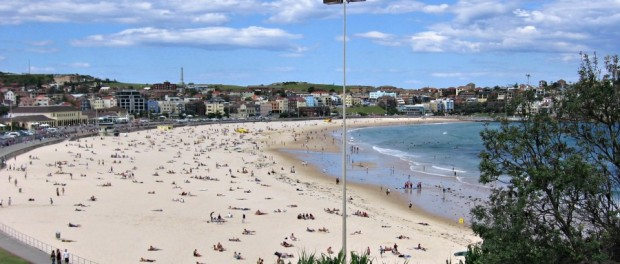 Bondi Beach in spring