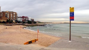 Cronulla Beach in winter