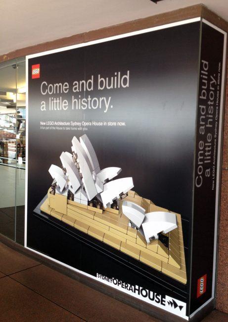 Opera House Lego