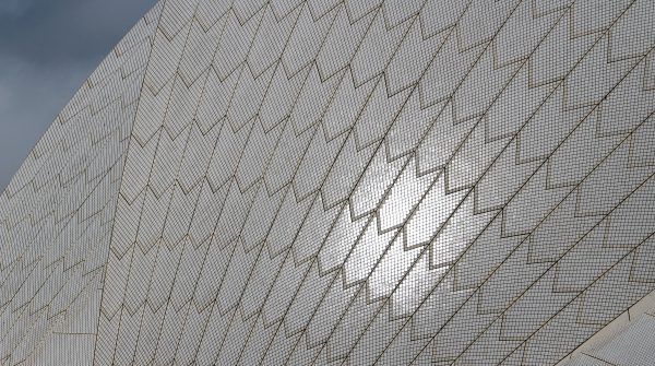 Opera House Tiles up close