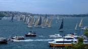 Sydney to Hobart Race Starting line