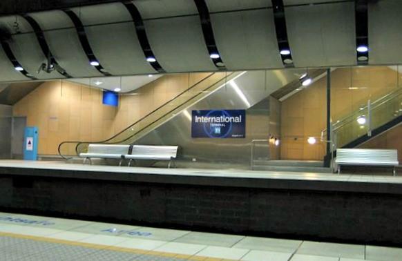 Airport Station Sydney International terminal