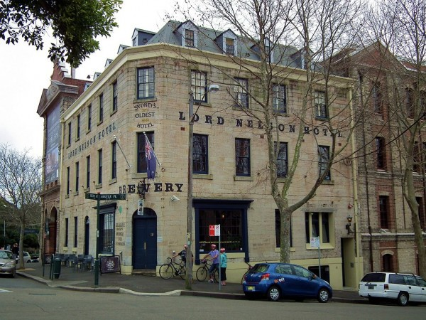 Lord Nelson Bewery Hotel The Rocks