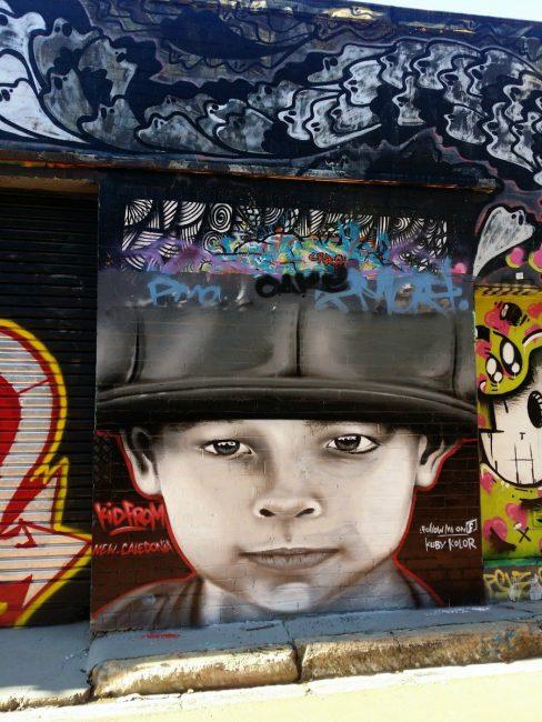 Mays lane st peters street art Self guided street art walk Sydney Australia
