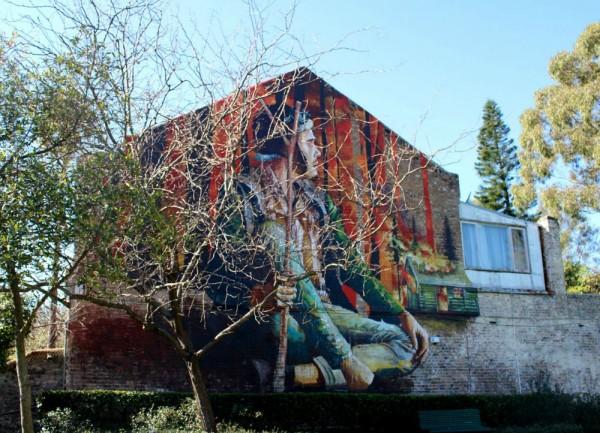 Fintan Mcgee Peace Park Mural
