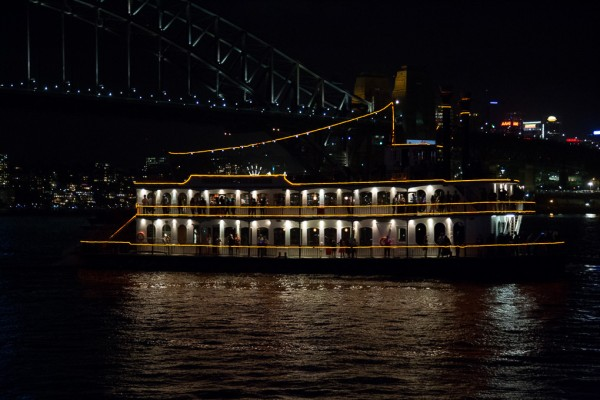Harbour of light parade New Years Eve Cruise in Sydney