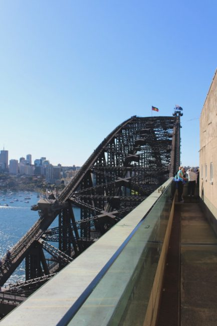Sydney harbour Pylon walk