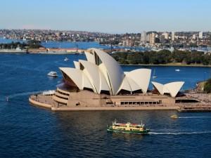 Sydney Harbour Pylon lookout view