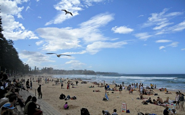 Manly Beach in March