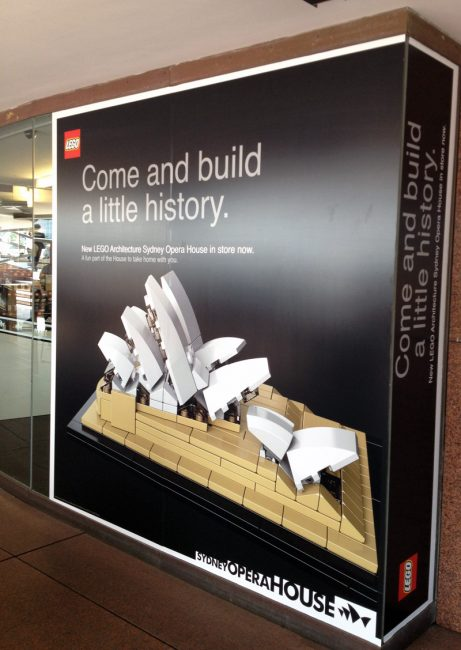 Sydney Opera House tour - Shop lego