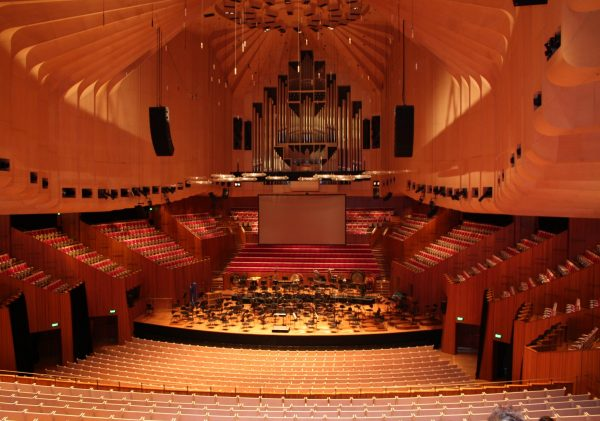 Most Sydney Opera House tours visit the Concert Hall