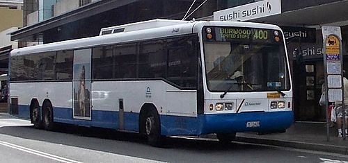 Sydney airport transport Bus 400 services the airport