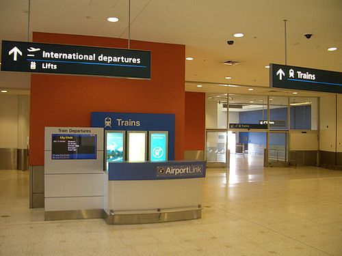 Sydney Airport transport Train stations