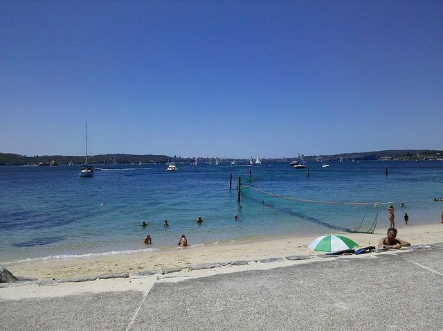 Sydney Harbour Beaches - Shark Bay