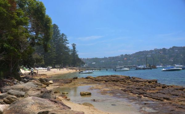 Forty Baskets Beach a small quiet beach near Manly