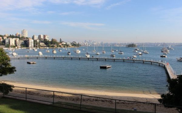 Murray Rose Pool and Seven Shillings Beach in Double Bay