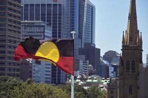 Aboriginal Flag in SYdney