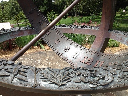 Sundail in the Royal Botanic Gardens
