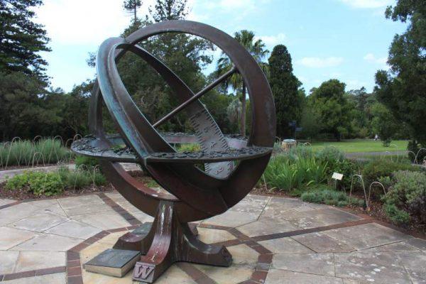 Sundial Royal Botanic Garden