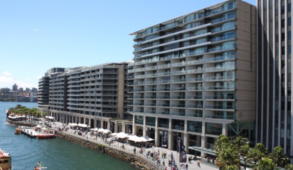 Quay Grand Suite hotel Circular Quay has uninterrupted Sydney Harbour Bridge Views
