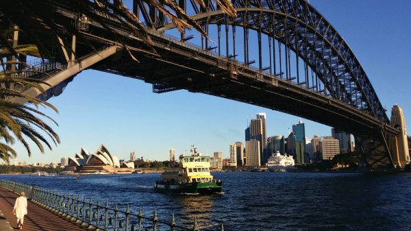 Opera House photo from Milsons Point Sydney