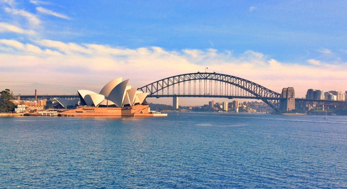 Image result for sydney opera house and sydney harbour bridge