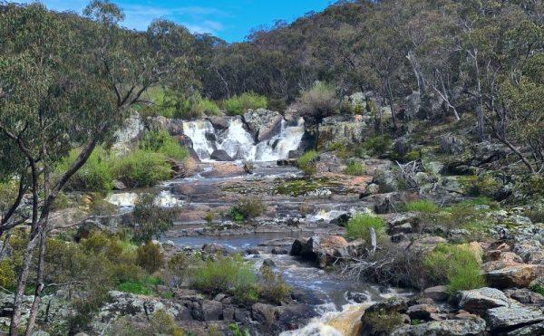 The Falls Waterfall in Orange NSW