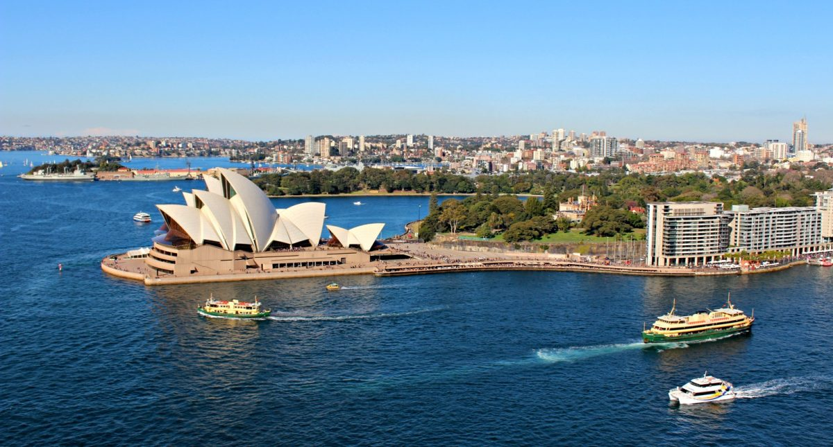 The Opera House Pylon View - Download Where To Take Picture Of Sydney Opera House  Pics