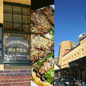 dining near bridgeclimb at Australia Heritage hotel