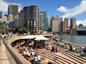 Opera Bar Sydney seating