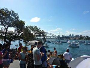 NYE View Mrs Macquarie's Point