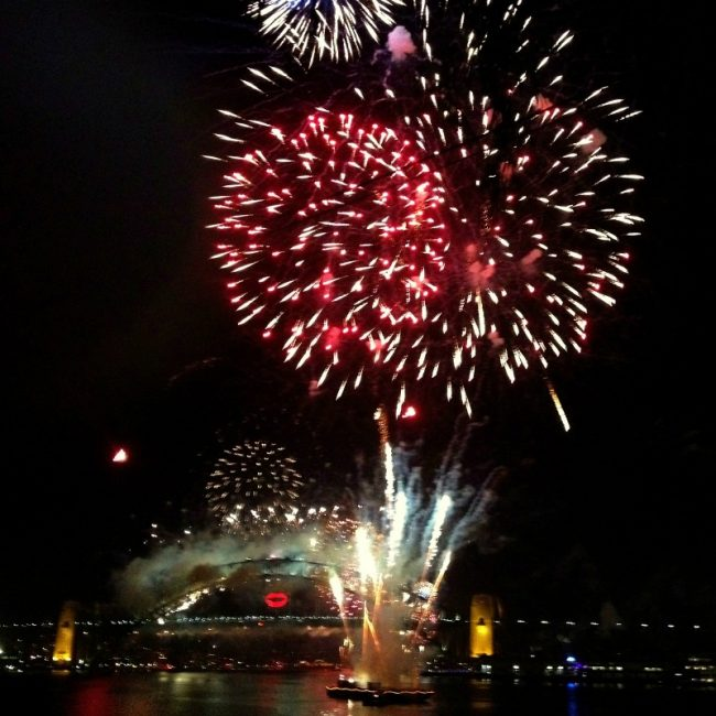 Goat Island 2012 fireworks