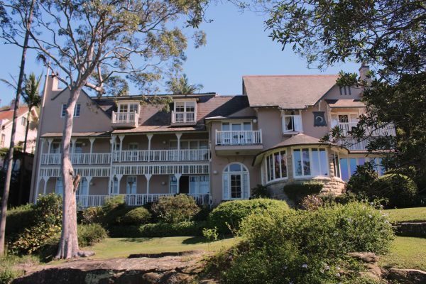 Mosman Bay Federation house