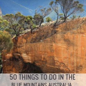 Fifty things to do in the blue mountains