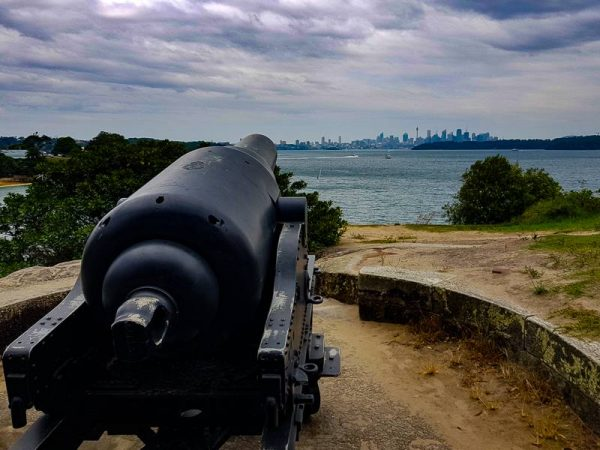 the canon along the watsons bay walk sydney australia