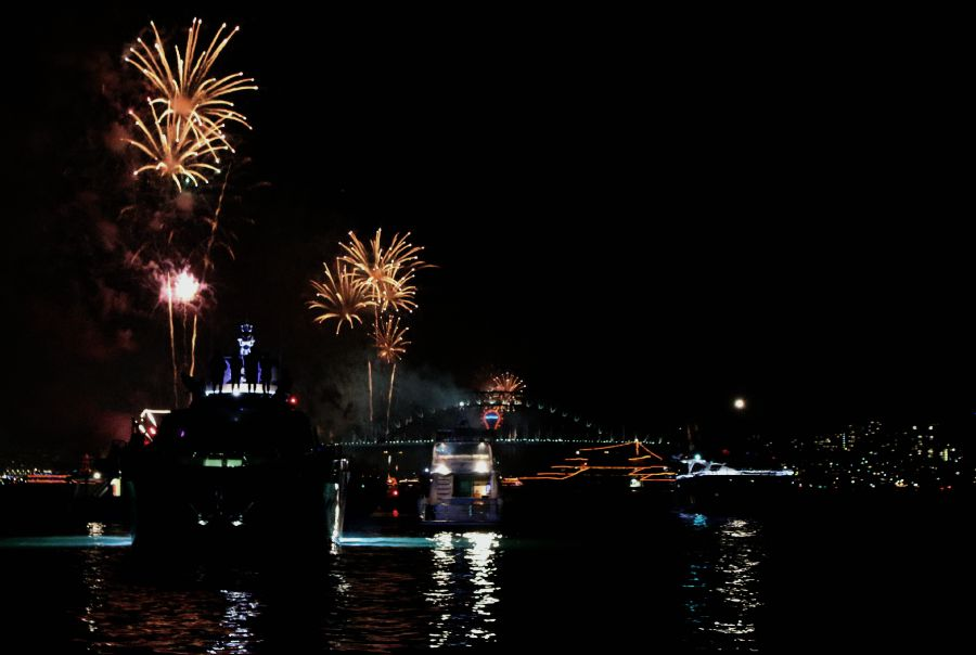 NYE Sydney Ferries