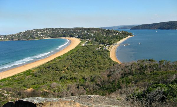 Pittwater and Palm Beach from Barrenjoey Head