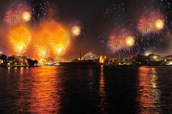 2016 Sydney New Year's Eve Pirrama Park Wharf, Pyrmont