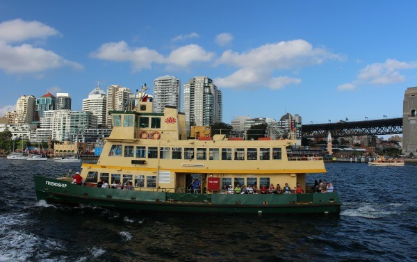 Sydney to Hobart Race Ferry