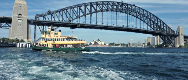 View from MacMahons Point Ferry