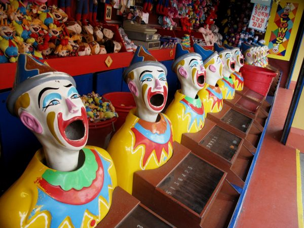 Luna Park Sydney Clowns Milsons Point