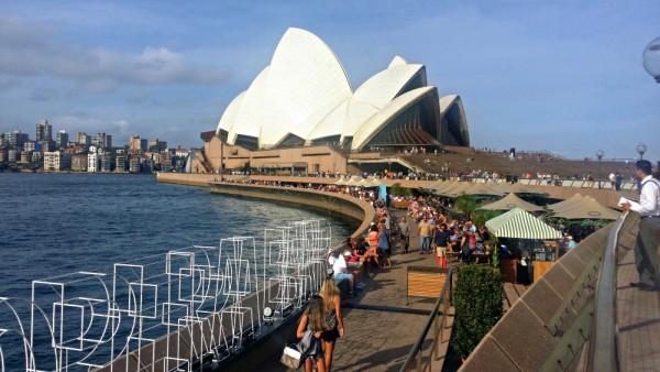 Opera Bar Sydney View