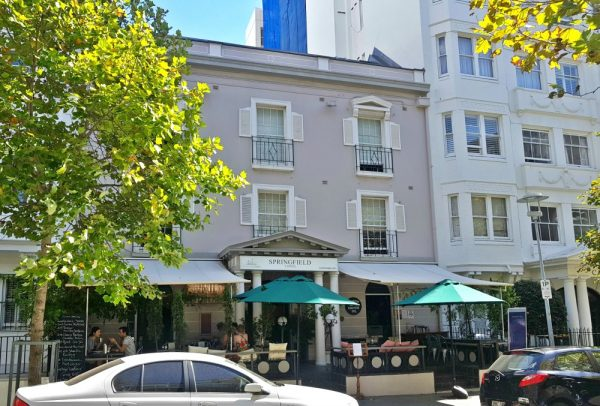 Budget Hotel in Potts Point Sydney Springfield Lodge