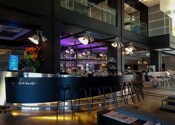 Bar area at Pullman Sydney Airport Hotel Australia