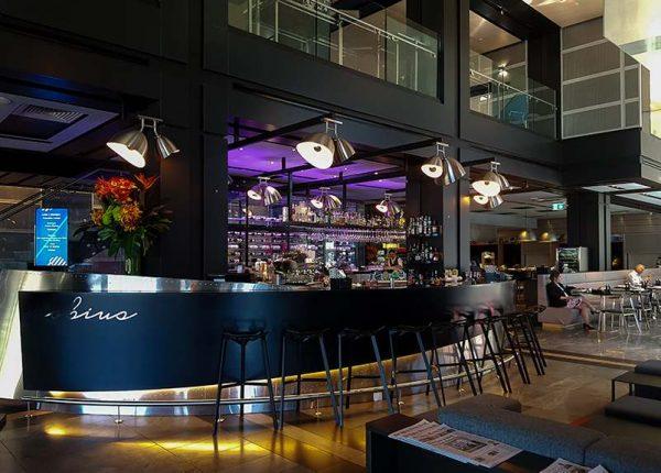 Bar area at Pullman Sydney Airport Hotel Australia