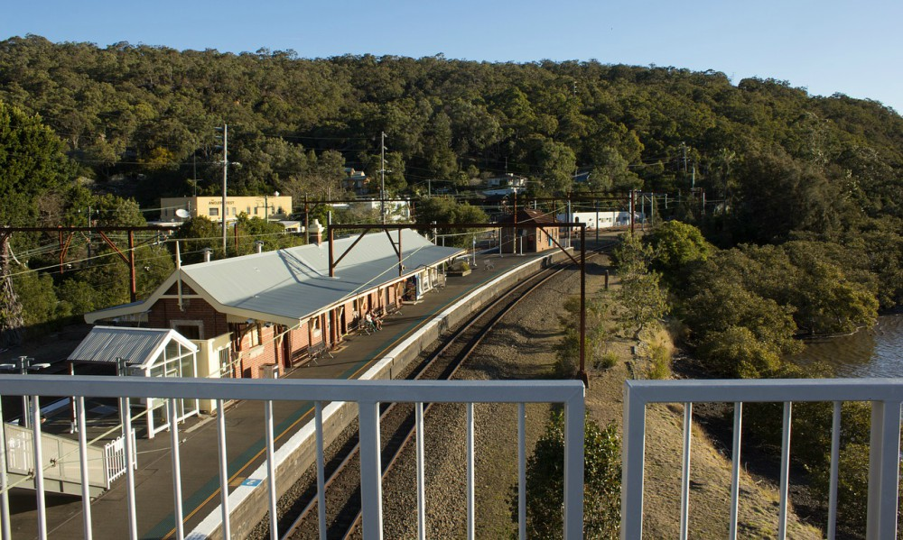 Train to the Blue Mountains