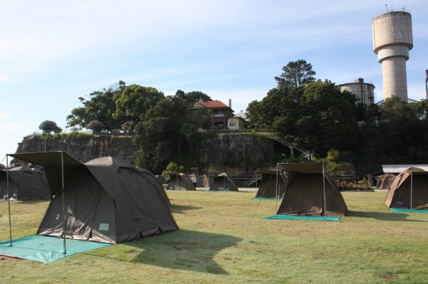 Cockatoo Island campground