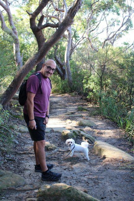 Berry island dog walk