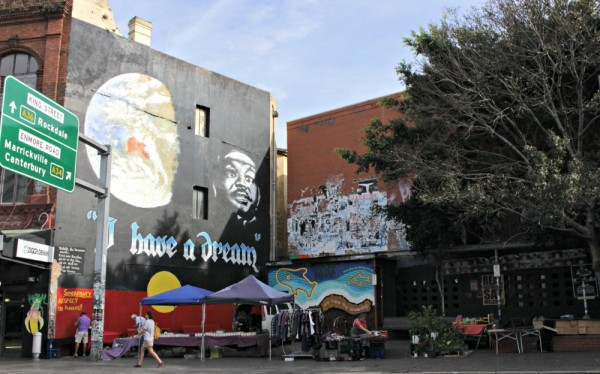 I have a dream mural in Newtown
