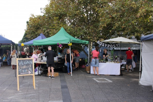 Small Sat Market at Newtown